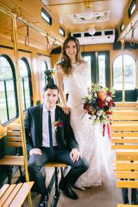 Bride-and-Groom-Trolley-Interior-